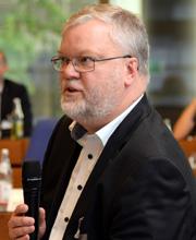 Jörg Kunkel von der Industriegewerkschaft Bergbau, Chemie, Energie (IG BCE)