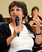Barbara Kauffmann von der Generaldirektion Beschäftigung, Soziales und Integration (Europäische Kommission)