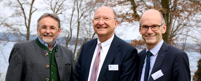 Leiteten die Tagung in Tutzing (von links): Prof. Dr. Jürgen Jerger von der Universität Regensburg, Dr. Wolfgang Quaisser von der Akademie für Politische Bildung und Prof. Dr. Ulrich Walwei, kommissarischer Leiter und Vizedirektor des IAB.
