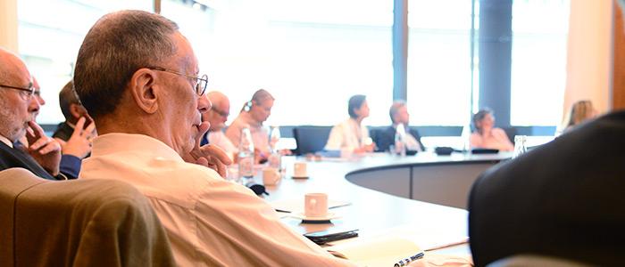 """Zum interdisziplinären """"Forum Zeitarbeit"""" trafen sich Vertreter aus Wissenschaft und Praxis am IAB in Nürnberg."""