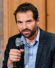 Bild von Michael Stümpfig, Landtagsabgeordneter von Bündnis 90/Die Grünen