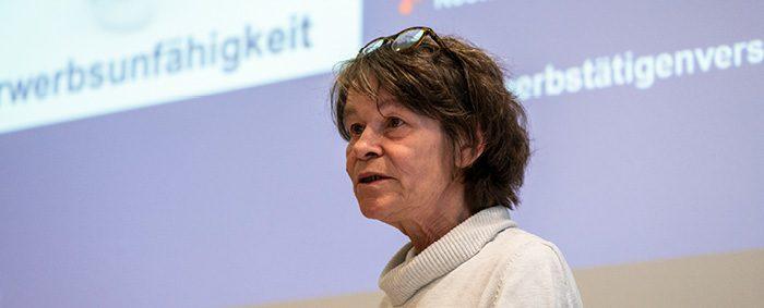 Veronika Mirschel leitet das Referat Selbständigkeit bei der Vereinigten Dienstleistungsgewerkschaft ver.di.