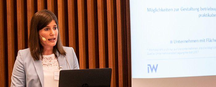 Helena Schneider ist wissenschaftliche Mitarbeiterin am arbeitgebernahen Institut für Wirtschaftsforschung in Köln.