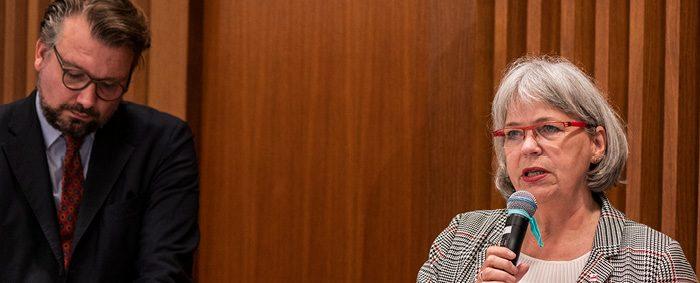 Petra Reinbold-Knape ist Vorstandsmitglied bei der IG Bergbau-Chemie-Energie.